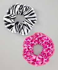 Zebra Leopard Scrunchie Set
